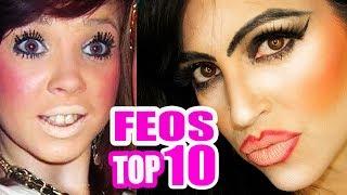 Los 10 Maquillajes más FEOS del Planeta! Yo Estoy!!! LOL #TopTen - SandraCiresArt