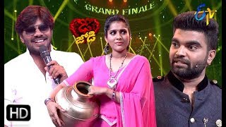 Sudheer | Rashmi | Pradeep | Funny Joke | Dhee Jodi | Grand Finale | 11th Sep 2019 | ETV Telugu