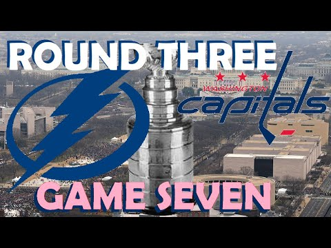 NHL - Washington Capitals vs Tampa Bay Lightning - Game 7 - Stanley Cup Playoffs