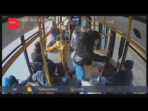 Пассажира, ударившего кондуктора, задержали на 13 суток
