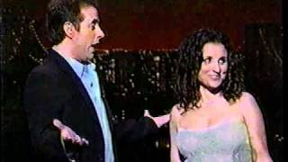 "Julia Louis-Dreyfus sings ""I Am 16 Going On 17"" w/ Jerry Seinfeld (2000)"