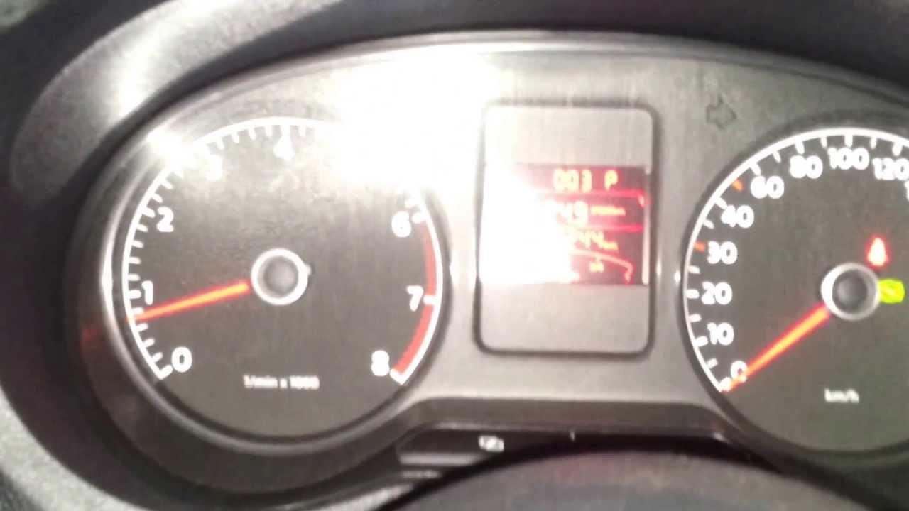 Датчик света на Polo Sedan