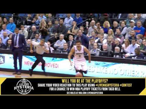 Taco Bell #LiveMasHYSTERIA: Timberwolves Run The Break!