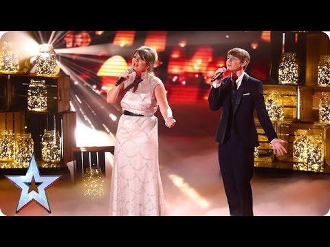 Mel and Jamie cover Love Can Build A Bridge | Grand Final | Britain's Got Talent 2016