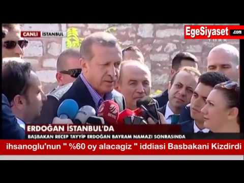 İhsanoğlu'nun 'Yüzde 60 Oy Alacağız' İddiası Erdoğan'ı Kızdırdı