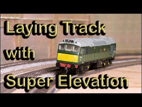 Laying Track with Super Elevation