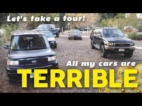 All 11 Of My Cars Are Terrible!