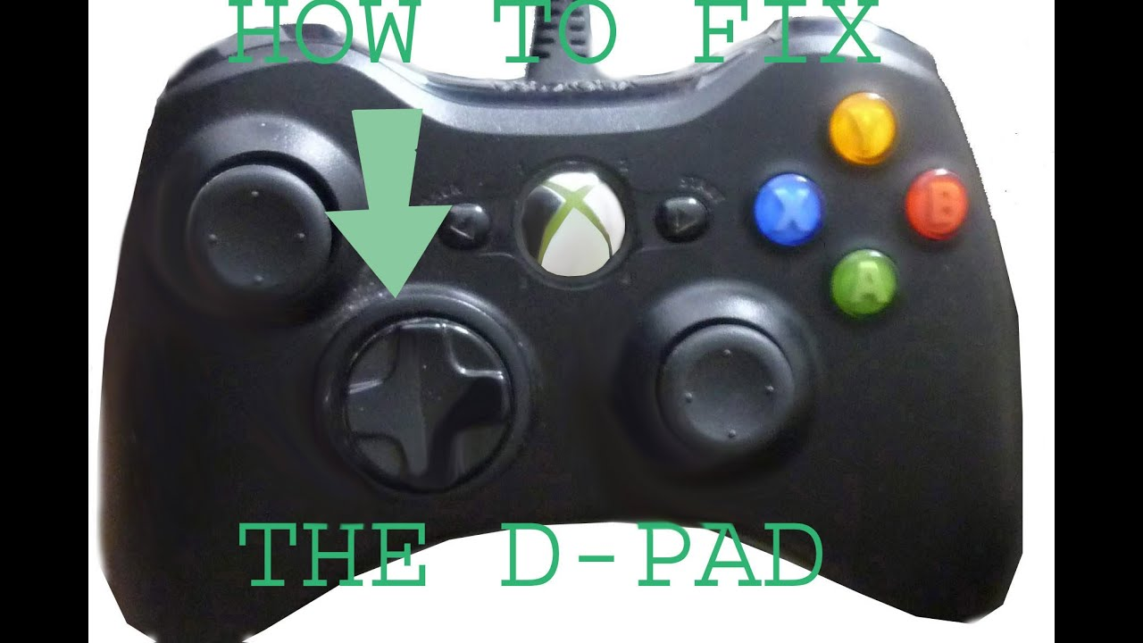 how to fix xbox one controller d pad