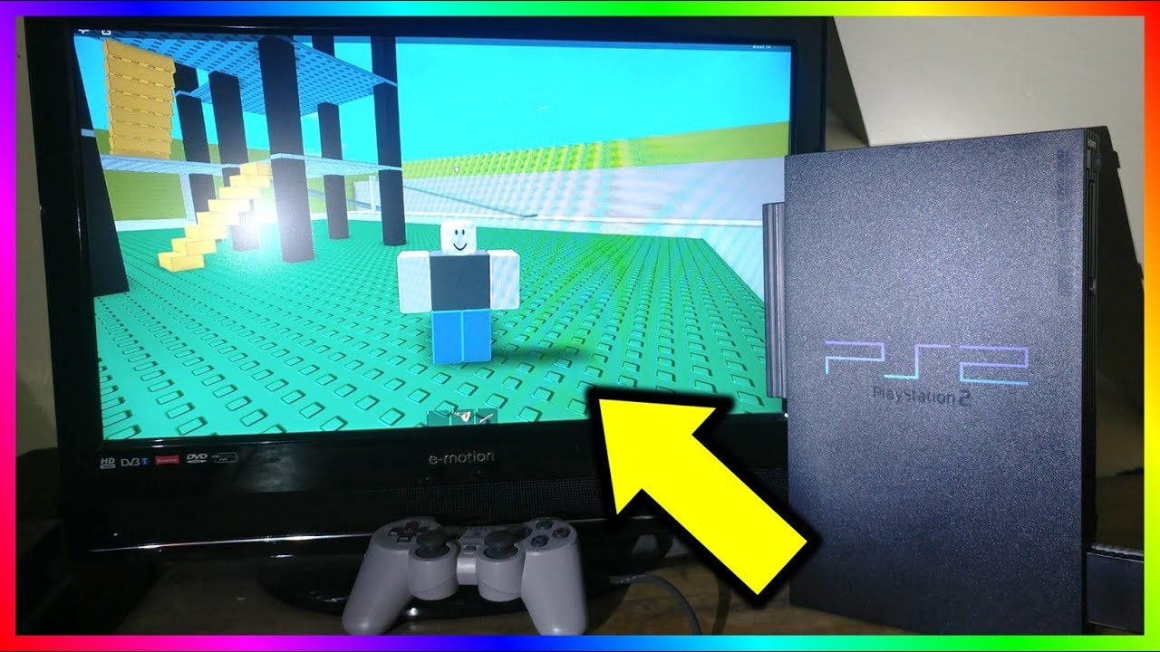 Playing Roblox On PS1/PS2/PS3/PS4!!! 😮🔥