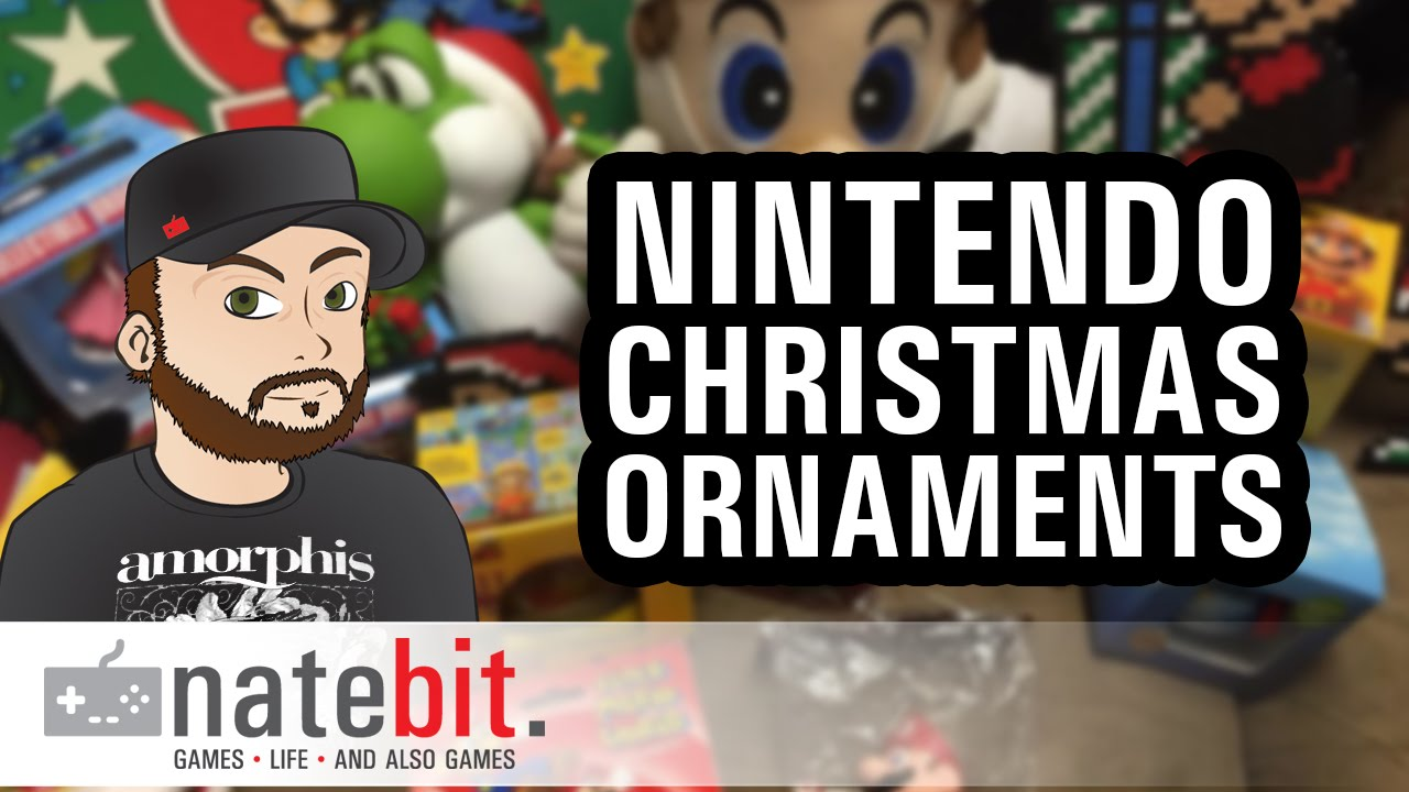 Nintendo Christmas Decorations and Ornaments - YouTube