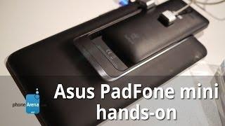 Asus PadFone mini hands-on