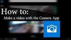 How to Use: Windows 10 Camera App