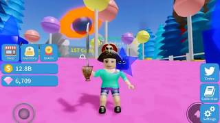 ROBLOX Unboxing Simulator by @teamunsquared NOOB mom play all day to save 200B to unlock Candy Land
