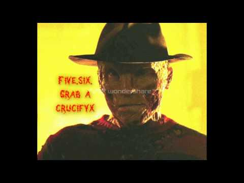 Freddy Krueger theme song lyrics pitch voice
