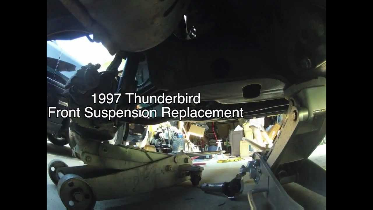1997 ford thunderbird front suspension replacement timelapse
