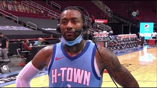 John Wall On Wizards-Rockets Game Being Personal   Postgame Interview