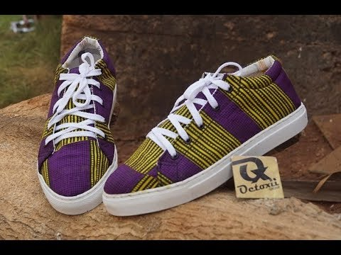 Ankara Sneakers making 2018