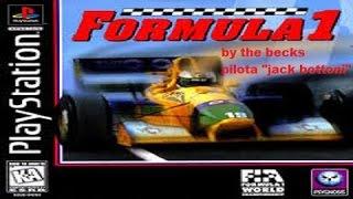 LA FORMULA 1 NEI VIDEOGIOCHI-Formula 1(ps1) stagione 1995 #03-Gp di san marino