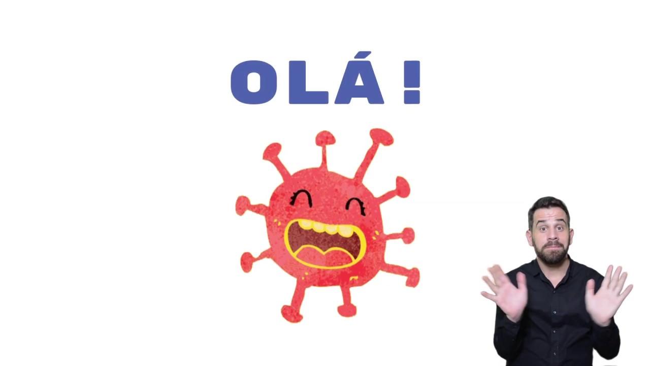 Covid 19 Olá Crianças Eu Sou O Coronavírus Youtube