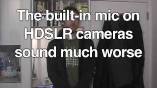how to use a zoom h4n as an on camera mic part 2