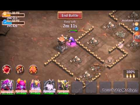 Immortep Vs Thunder God Castle Clash