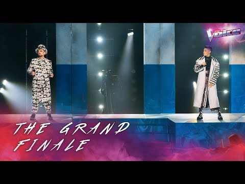 Grand Finale: Boy George and Sheldon Riley sing Sweet Dreams   The Voice Australia 2018
