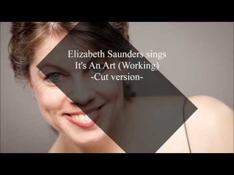 Elizabeth Saunders Sings It's an Art (Working) with Phil Hall, Pianist