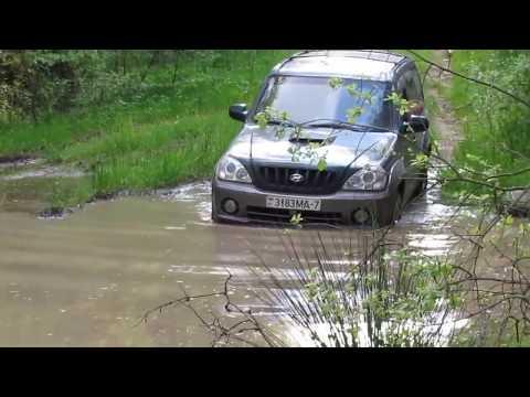 Jeep Cherokee Vs Hyundai Terracan Off Road Extreme