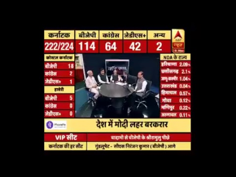 ABP News Is LIVE | Karnataka Election Results