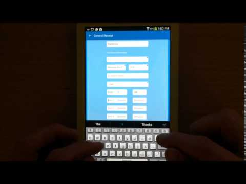 Make Your Own Receipts | Receiptish App - YouTube