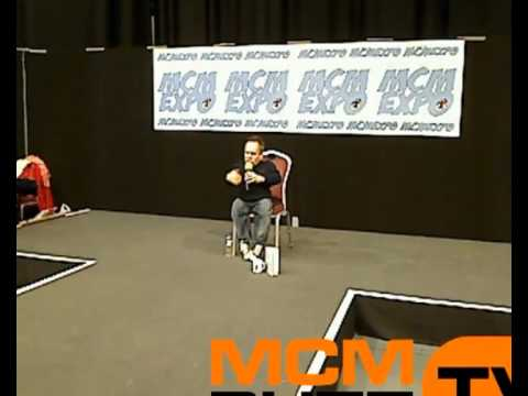Warwick Davis guest talk on MCM Buzz TV that was streamed live from MCM Expo Midlands Comic Con