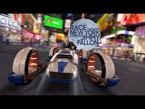 Jimmy Fallon Race Through New York Ride Preview! Universal Studios Orlando