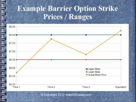 Information currency trading options barrier