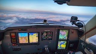Flying 7 Hours Nonstop in a Bonanza