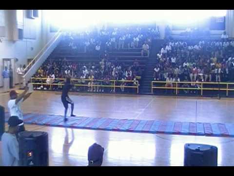 Flip Squad performing at Sylvan Hills Middle School