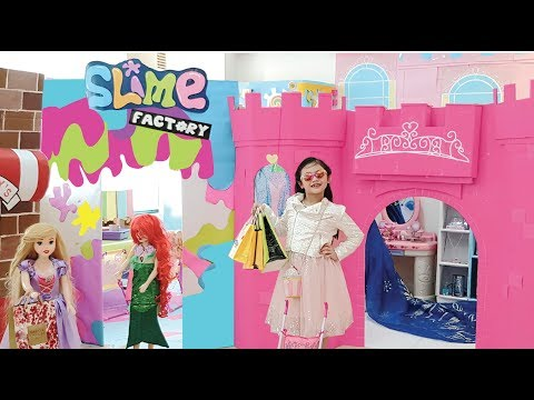 Bug Barbie Malibu Mall and Slime Shop Pretend Play !