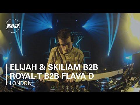 Elijah & Skiliam b2b Royal-T b2b Flava D Fabriclive x Boiler Room London DJ Set