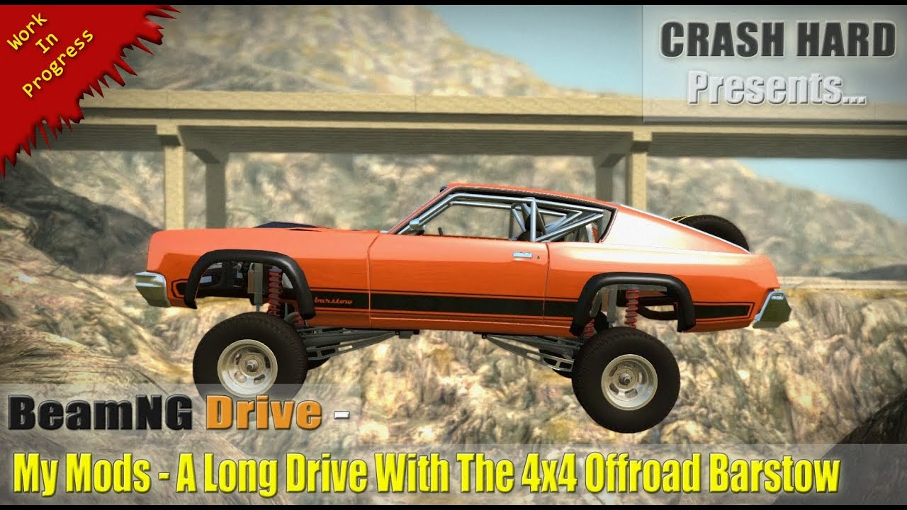 BeamNG Drive - My Mods - A Long Drive With The 4x4 Offroad ...