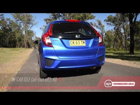 2017 Honda Jazz VTi (manual) 0-100km/h & Engine Sound