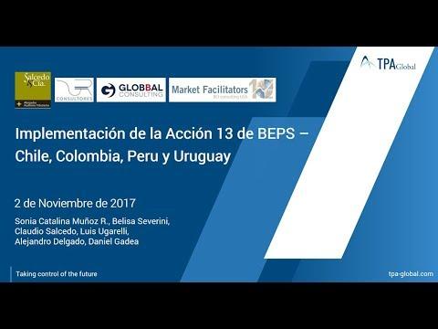 Implementación de la Acción 13 de BEPS – Chile, Colombia, Peru y Uruguay