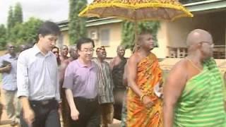Health Delegation from Ningxia, China, visits Volta Region. Ghana