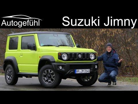 all-new Suzuki Jimny FULL REVIEW - Autogefühl
