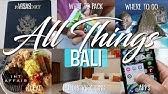 NO BULLSHIT GUIDE TO BALI, INDONESIA