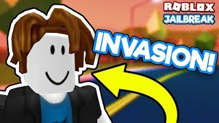 🔴 THE BACON HAIRS ARE INVADING JAILBREAK!!  | 🥓🥓 🚁🚗 😱 Roblox Jailbreak Live Stream