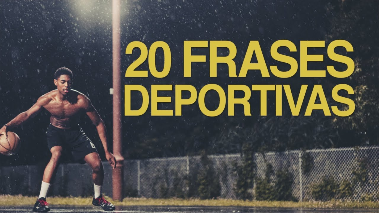 100 Frases Deportivas Encuentra La Motivación Con Imágenes