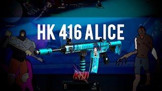 HK 416 ALICE NO MODO ZUMBI - FalandoJogando - Blood Strike