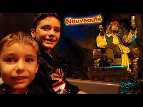 VLOG - On  teste le Nouveau PIRATES DES CARAÏBES ! Nouveauté 2017 DisneyLand Paris