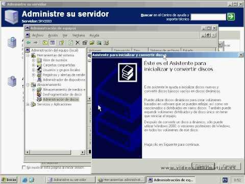 Raid Windows 2003 Server Raid 5 Recuperar Youtube