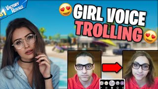 GIRL Voice Trolling a WEIRDO using the GIRL Snapchat Filter..