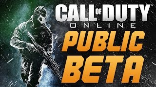 Call of Duty: Online - COD ONLINE ENTERS (CHINESE) PUBLIC BETA - HUGE NEWS FOR CHINESE GAMING MARKET